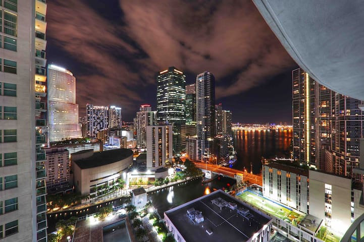 Miami Brickell Loft w/Awesome Views