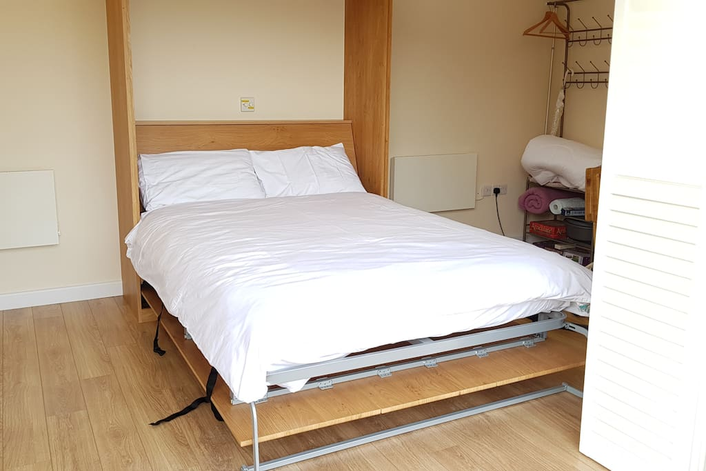 New for 2018 - Full sized pull-down bed