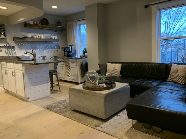 Furnished one Bedroom Mission Hill Apartment