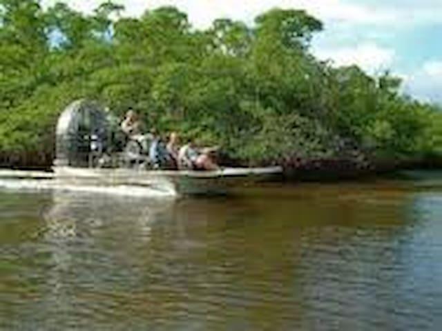 Air Boat rides