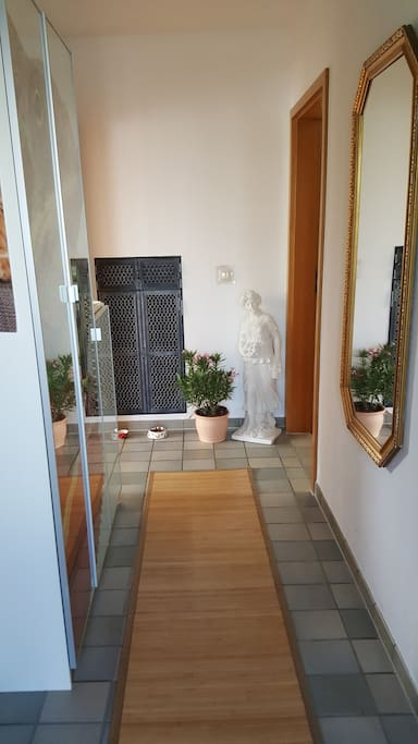 Eingang zur Wohnung