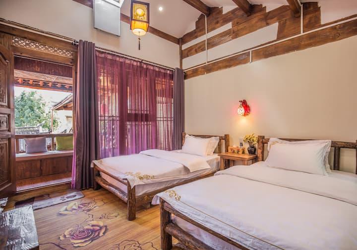 丽江古城景区七一街南门「成十」花相容标准房 近和府洲际英迪格酒店