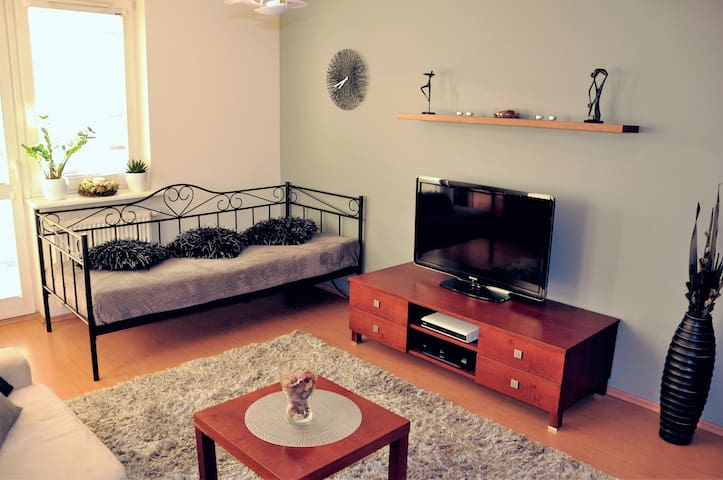 Spacious & Quiet Apartment Słoneckiego