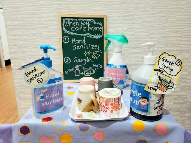 Free Japanese lesson & breakfast! Single room①