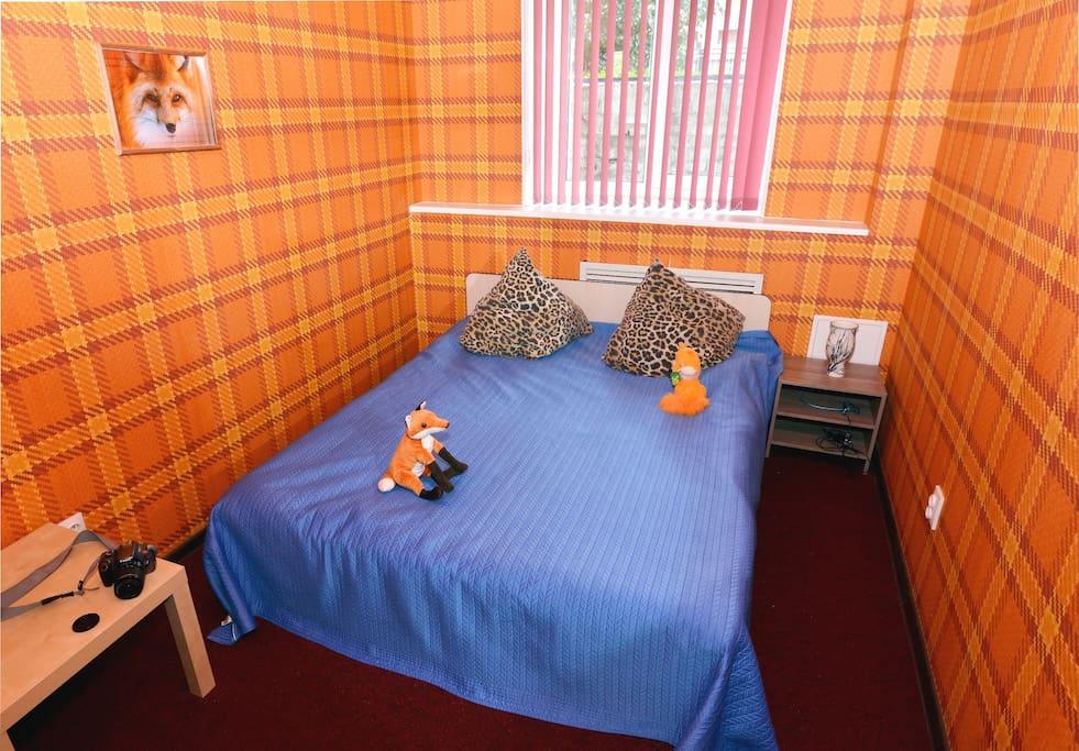 2-х местный номер с двухспальной кроватью