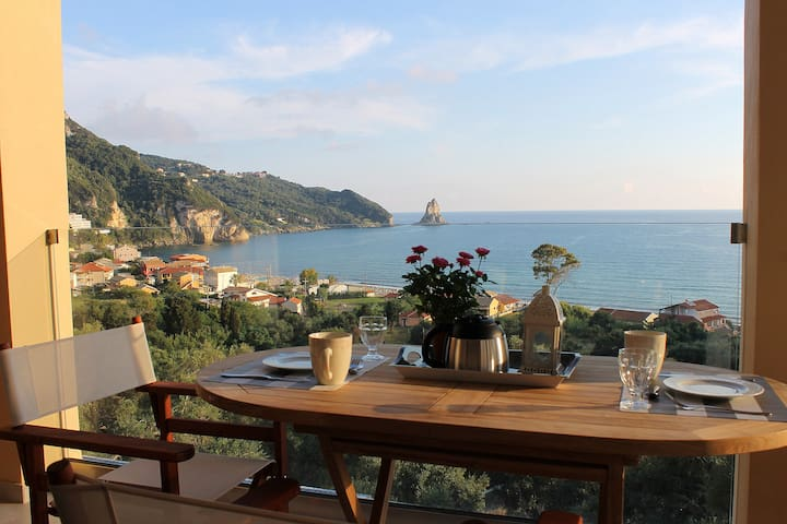 Luxury Apartment with sea view - Agios Gordios - Byt