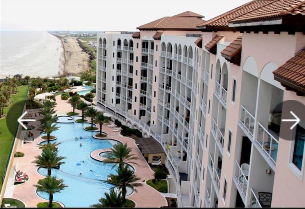 Diamond Beach Resort Galveston Amenities