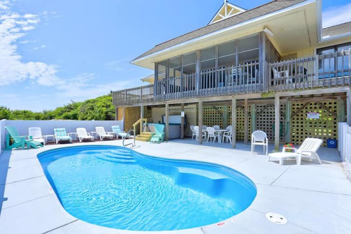 3031 Blessed by the Sea Finale * Semi-Oceanfront * Pool * Pool Table