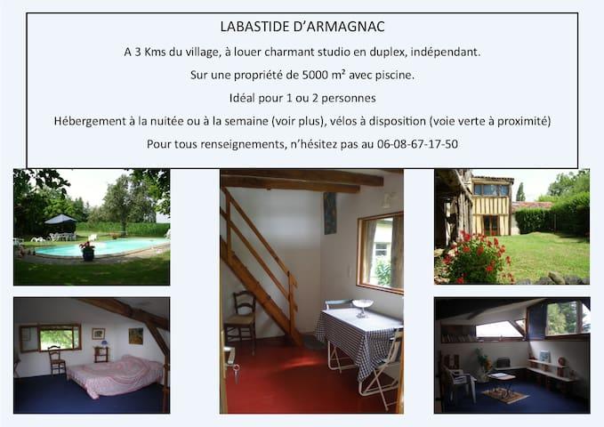 vacances champêtres - Saint-Justin - Appartement