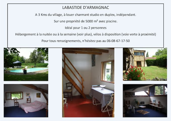 vacances champêtres - Saint-Justin - Leilighet