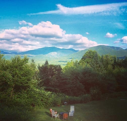 Best View of Mt. Lafayette,Heart of the White Mnts - Franconia - บ้าน