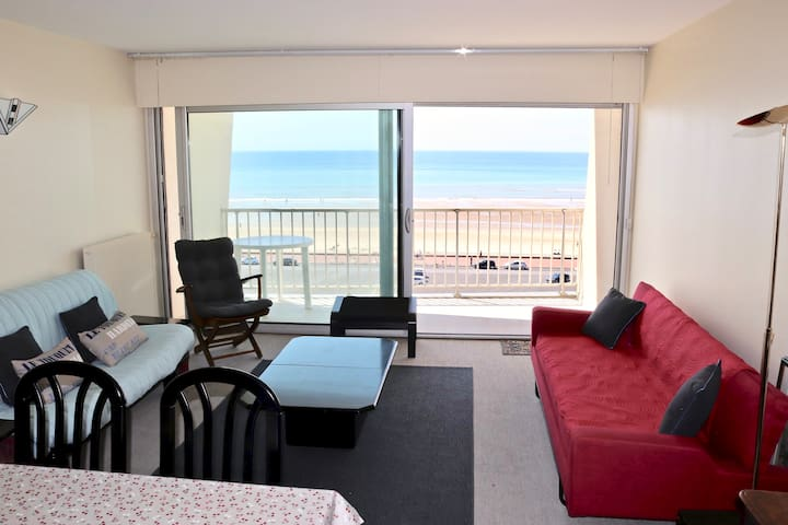 Appartement 70 m2 Face Mer, 2 chambres, parking
