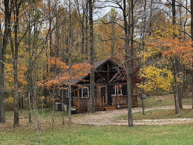 Cardinal Cabin, Custom Log Home great 4 a Family