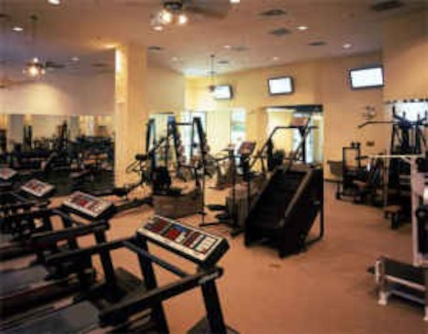 Full work out facility.