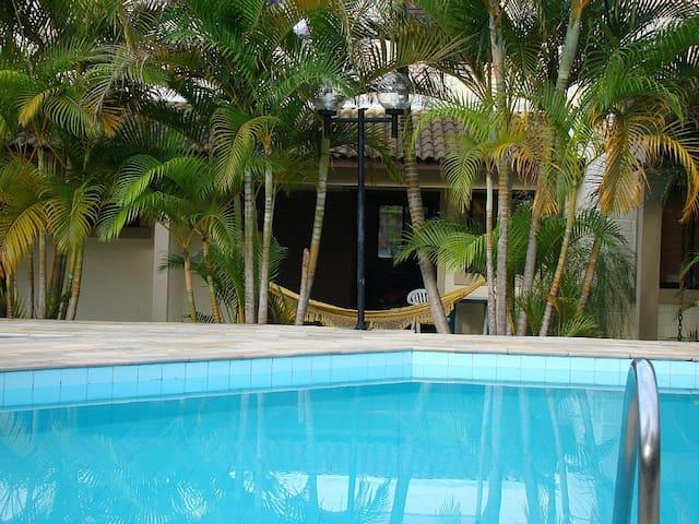 Casa Condomínio Fechado Piscina em Paúba, Maresias