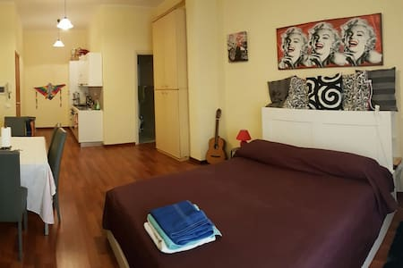 Luxury 1 bedroom flat station area - Palermo - Appartement