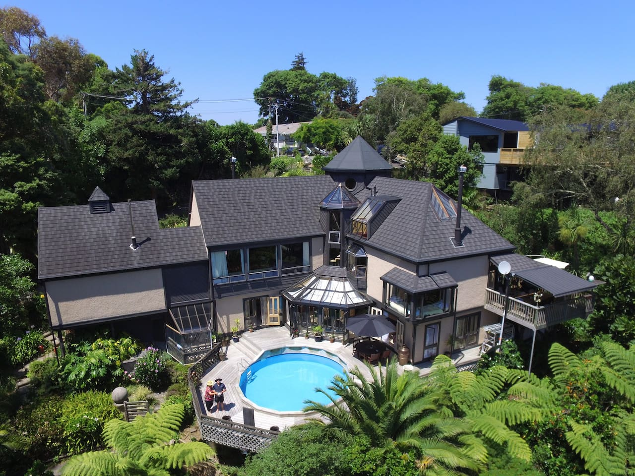 A birds eye view of Tulloch Manor