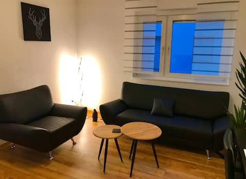 Contemporary 2-room apartment in Stuttgart-Süd