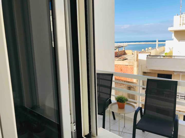 Korona beach apartments I sea view suite