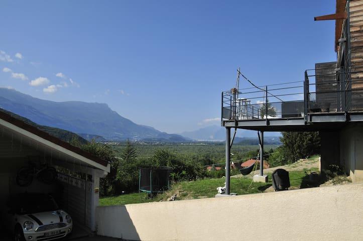 Chambre au coeur des montagnes près de Grenoble