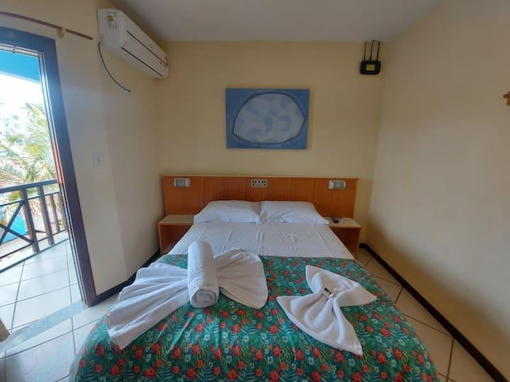 Suites com ar condicionado,  wifi , frigobar , TV