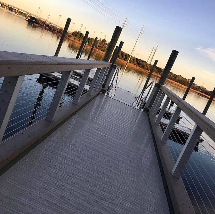 Brand New DOCK with Great Fishing