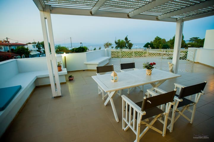 Luxury apartment Rodia - full sea view in Rhodes