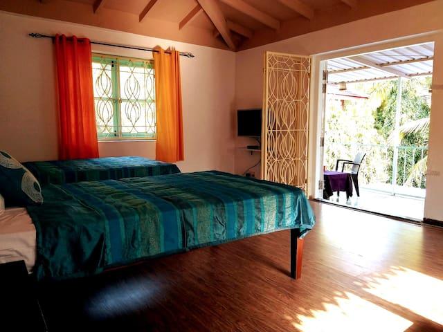 Chic stay in idyllic Saligao nr Calangute/Candolim