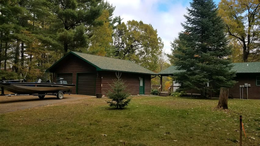 Awesome Cabin on Leech Lake with Wooded Views!