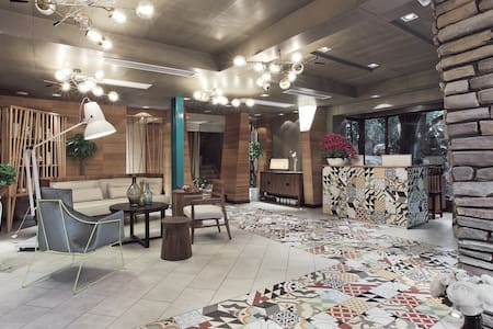 西湖边的轻奢度假酒店豪华双床房(Luxury Double Room) - Hangzhou - Boutique hotel