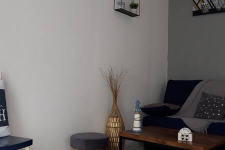 Ault bel appartement chaleureux à 50 m de la mer