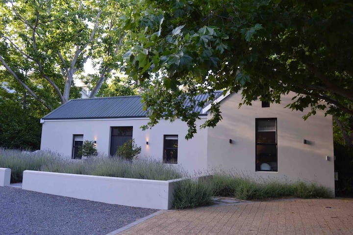 A stylish, modern barn in the Constantia winelands