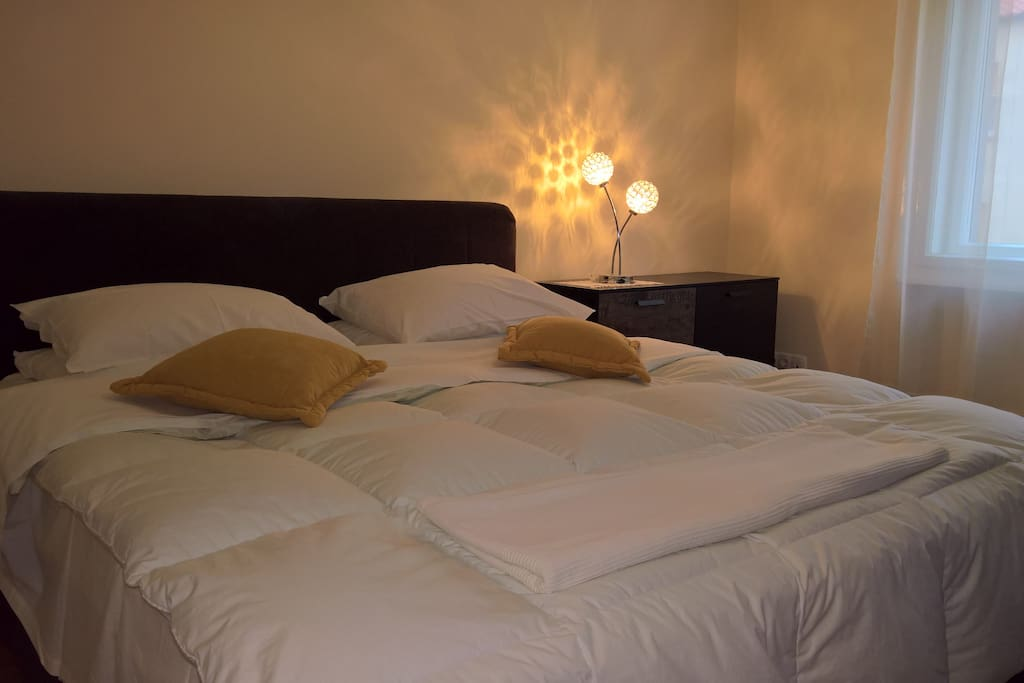 bedroom winter time