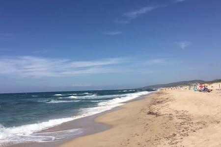 HOUSE ON THE BEACH & POOL SARDINIA - BADESI