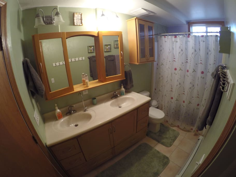 Full Bathroom Attached to the Bedroom