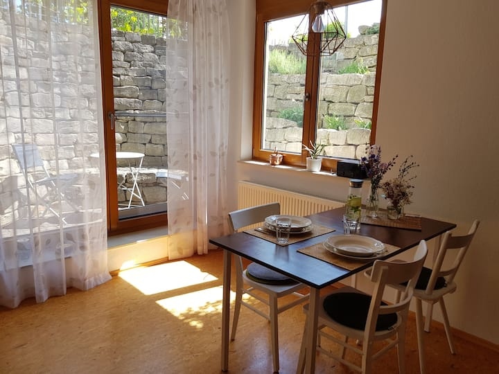 Moderne nachhaltige Ferienwohnung bei Bruchsal