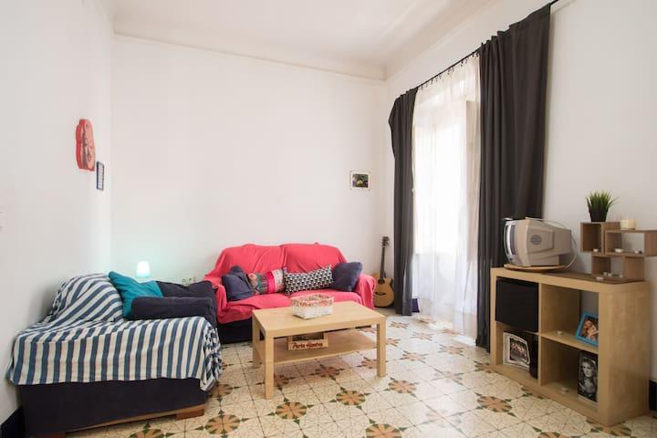Habitación bohemia en Canalejas - Alacant