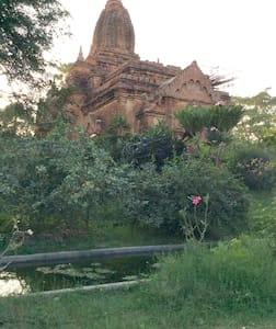 Bagan No hotel private house riverside with pool - Old Bagan - 独立屋