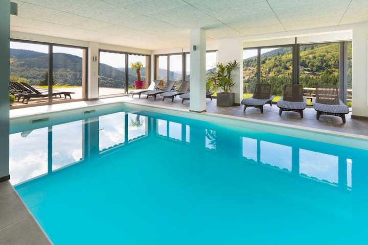 Etoile des neiges, piscine wellness - Ventron - Apartment