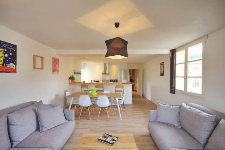 Appartement Avignon centre,2 chambres4/6 personnes