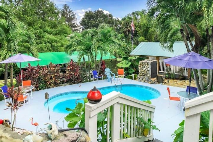 Mini Resort Fort Myers Heated Pool HotTub on Canal