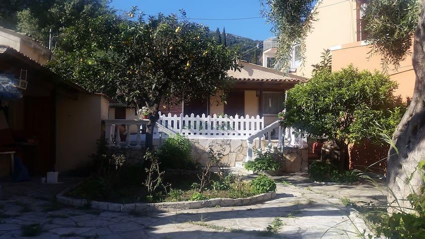 Paleokastritsa Port Apt (few steps from the beach)