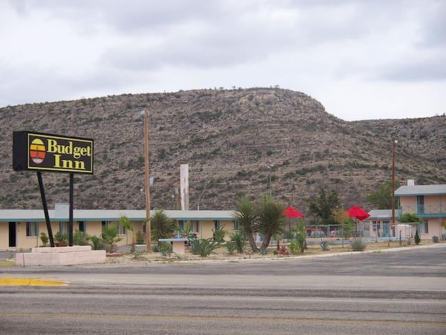 Budget Inn Motel, Sanderson, TX
