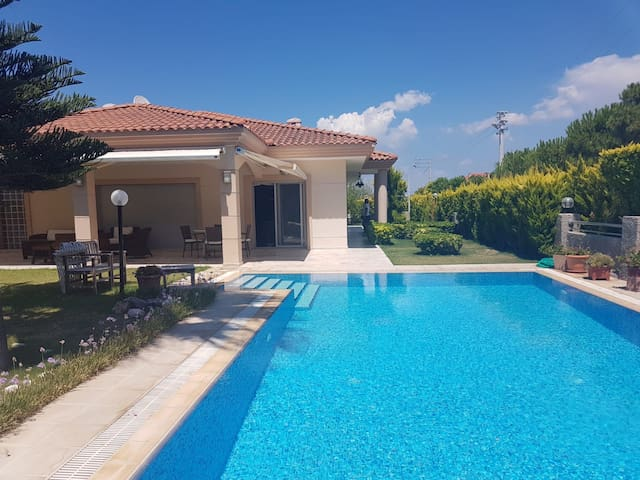 Luxury villa with private pool and grand garden