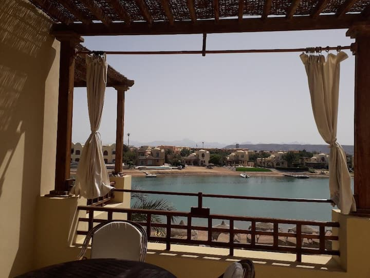 Stunning apartment at Abu-Tig marina