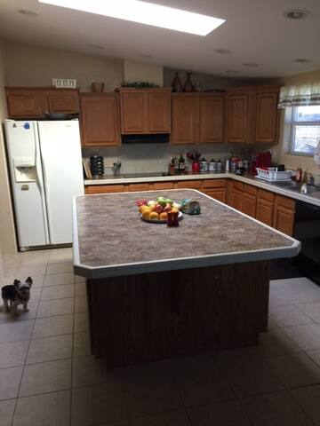 Kitchen: shared space