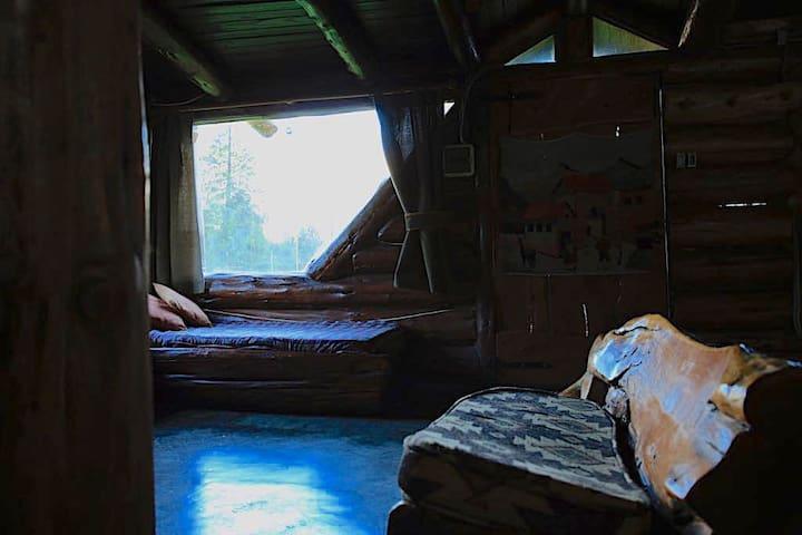 living area cabin
