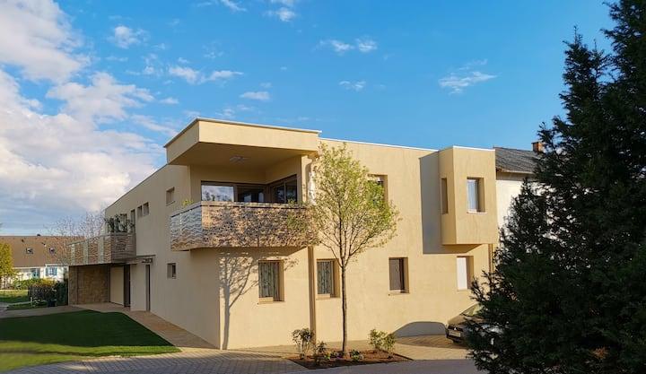 ISOLDE ein modernes 65m² Appartement in Ruhelage