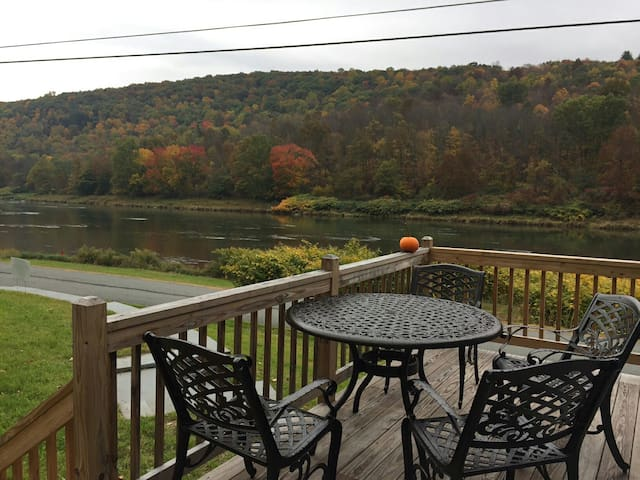 Cozy riverside fishcamp - Callicoon