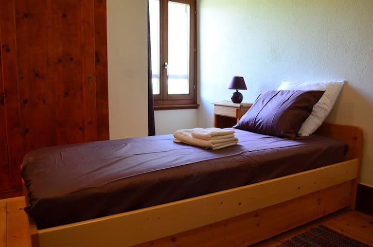 Cosy Single Room in Traditional Swiss Villa - Lavey-Morcles - Villa